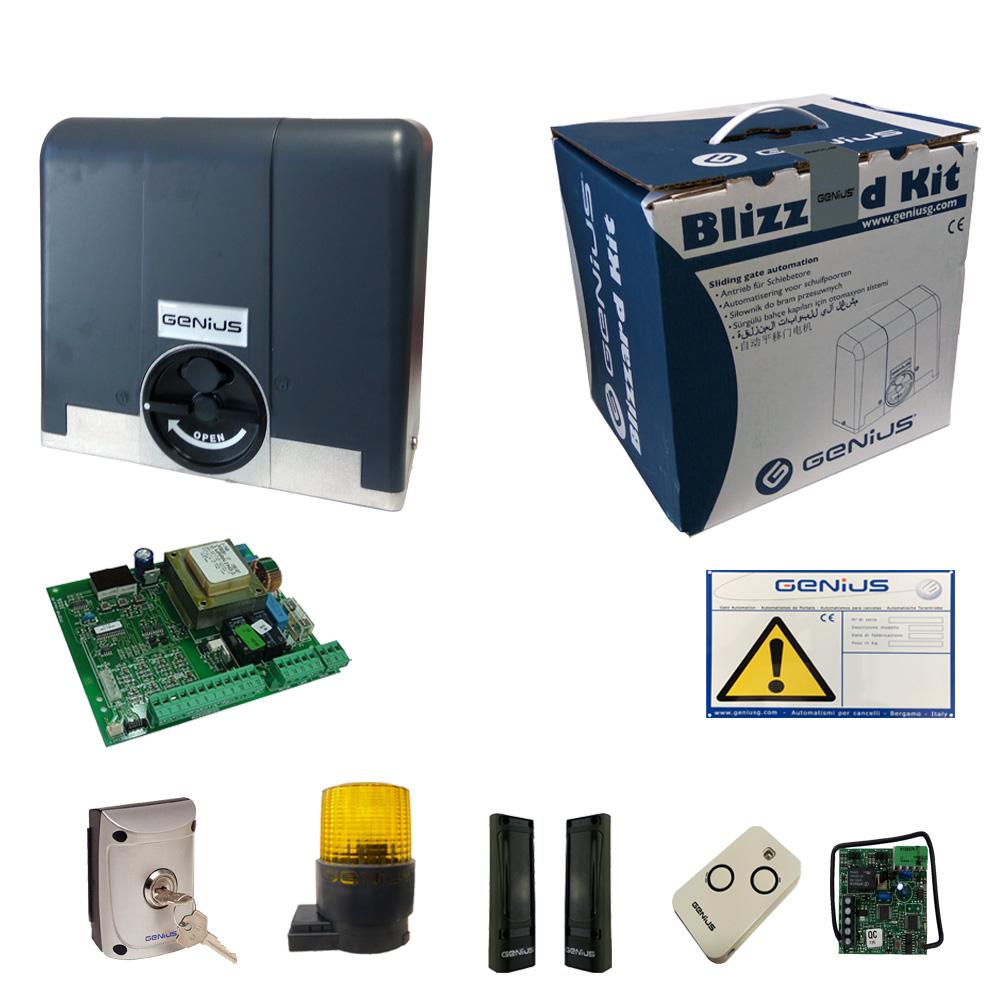 Kit Automatisme Portail Coulissant 500kg 230v 868 Mhz Automatisme