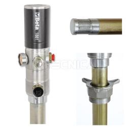 Pompe  à graisse manuelle FERVI 0677 500cc avec tuyau souple et rigide